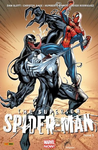 The Superior Spider-Man (2013) T05 - Les heures sombres - 9782809461985 - 12,99 €