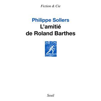 L'Amitié de Roland Barthes
