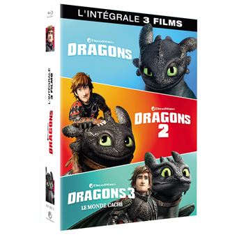 Dragons, cavaliers de BeurkCoffret Dragons L'intégrale Blu-ray