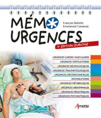 Mémo Urgences (3e édition enrichie) - 9782718415284 - 19,99 €