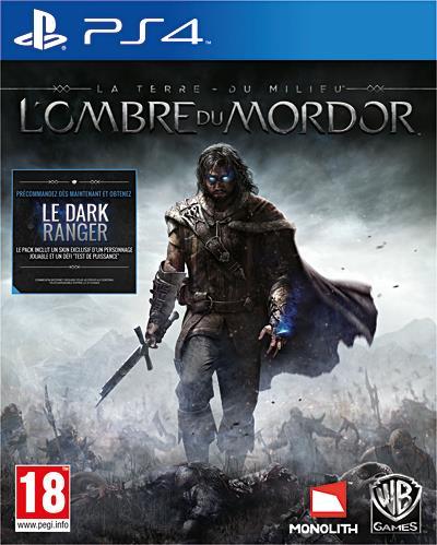 La Terre du Milieu L'ombre du Mordor PS4