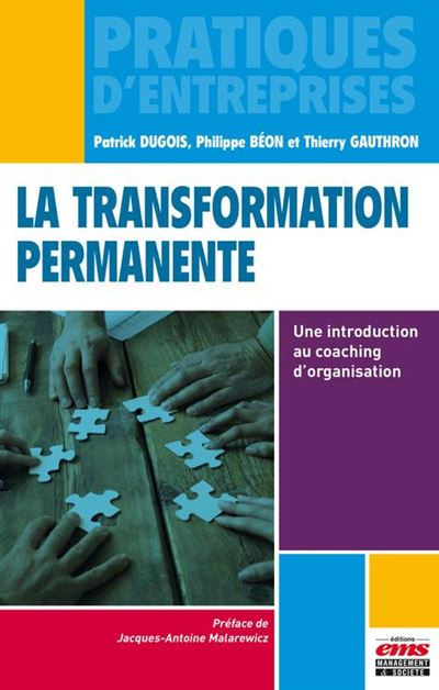La transformation permanente - Une introduction au coaching d'organisation - 9782847698442 - 14,99 €
