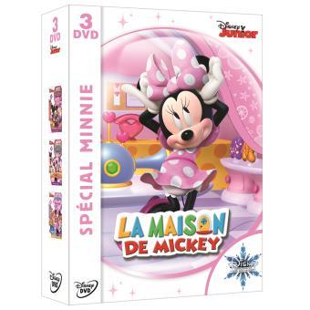 La maison de Mickey, Spécial Minnie Coffret 3 films DVD - DVD Zone ...