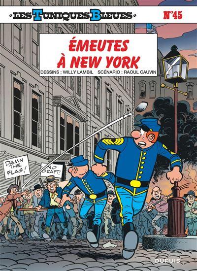 Les Tuniques Bleues - Émeutes à New York