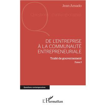 De l'entreprise a la communaute entrepreneuriale