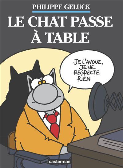 Le Chat passe à table