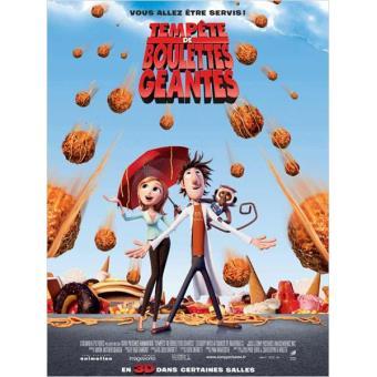 Tempête de boulettes géantes - DVD + Copie digitale