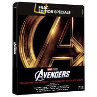 Avengers Coffret Steelbook Edition Spéciale Fnac Blu-ray