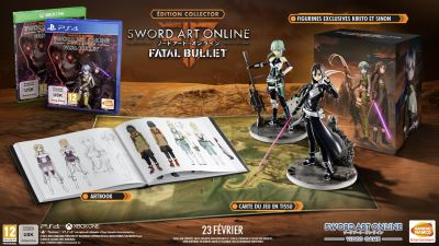 Sword Art Online Fatal Bullet Edition Collector PS4