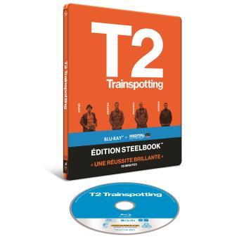 TrainspottingT2 Trainspotting  Steelbook Blu-ray