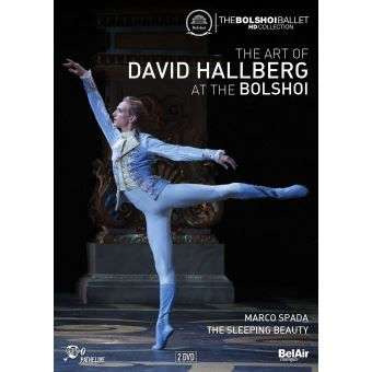 The Art Of David Hallberg At The Bolshoi DVD