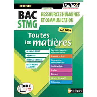 Ressources Humaines Et Communication Term Stmg Toutes Les Matieres Reflexe N 2 2018 Tome 02 Broche Collectif Achat Livre Fnac