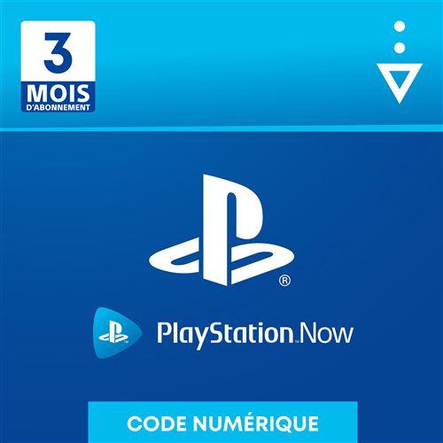 Code de téléchargement Sony Playstation Now : 3 mois d'abonnement