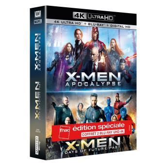 X-MenX-Men Coffret Exclusivité Fnac Blu-ray 4K