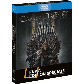 Game Of Thrones, Le trône de ferCoffret intégral de la Saison 1 Edition Spéciale Fnac Blu-Ray