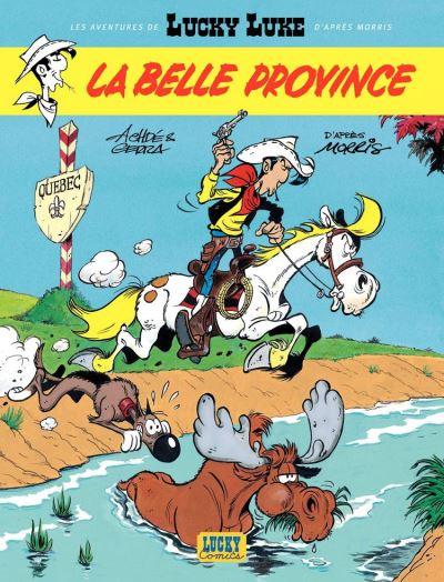 Les aventures de Lucky Luke d'après Morris - Tome 1 - La belle province - 9782884717403 - 5,99 €