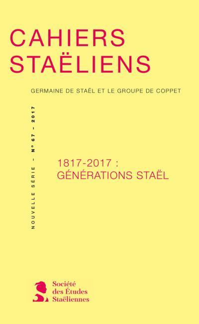 1817-2017 : Générations Staël