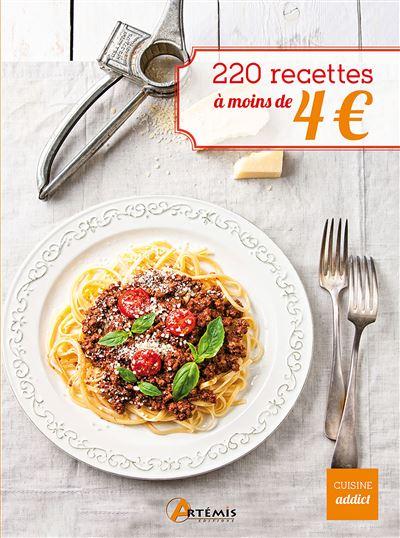 220 recettes à moins de 4 euros
