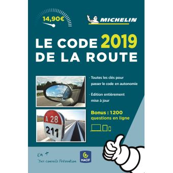 code de la route michelin 2019 broch collectif achat livre fnac. Black Bedroom Furniture Sets. Home Design Ideas
