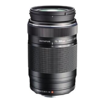 Olympus ED 75-300mm f/4.8-6.7 II Hybride Lens Zwart