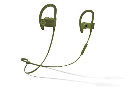 Écouteurs Powerbeats3 sans fil  Collection Urbaine, Vert olive
