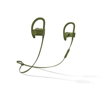 Écouteurs Powerbeats3 sans fil – Collection Urbaine, Vert olive