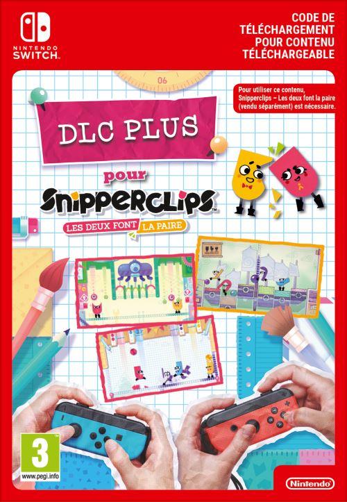 Code de téléchargement Snipperclips Pack Plus Nintendo Switch