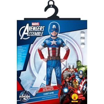 Déguisement Captain America Avengers Assemble, Taille L