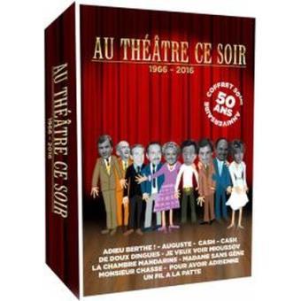 Coffret Au théâtre ce soir 50ème anniversaire DVD