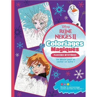 La Reine Des Neiges 2 Coloriages Magiques Flocons Magiques