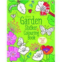 Garden Sticker & Colouring Book