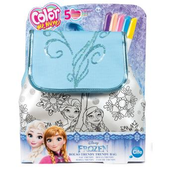 Sac Coloriage Reine Des Neiges.Sac A Dos A Colorier Color Me Mine Sequin Frozen La Reine Des Neiges
