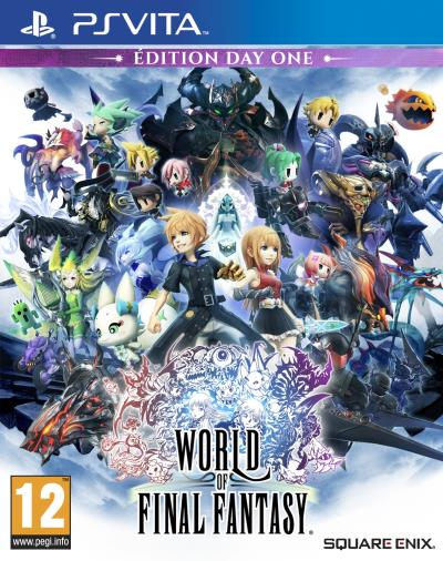 World of Final Fantasy Edition Day One PS Vita