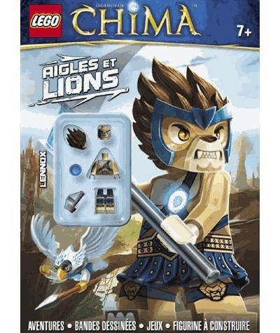 Lego Legends of Chima - Avec une figurine Lego Tome 1 : Lego chima 1 lions et aigles