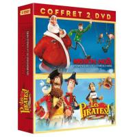 Les Pirates !, bons à rien, mauvais en tout - Mission Noël - Coffret 2 DVD