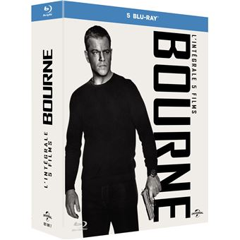 Jason BourneCoffret Bourne L'intégrale 1 à 5 Blu-ray