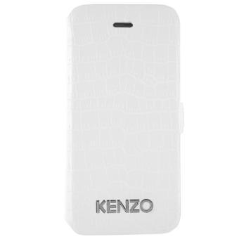 Etui Kenzo Croco pour iPhone 5   5s, Blanc - Etui pour téléphone ... ae38736d106