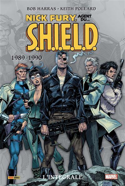 Nick Fury : L'intégrale T05 (1989-1990)
