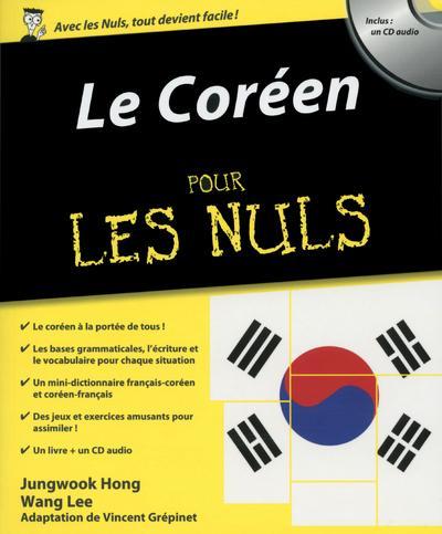 Pour les Nuls -  : Le coréen pour les nuls