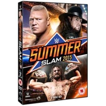 WWE Summerslam 2015 DVD