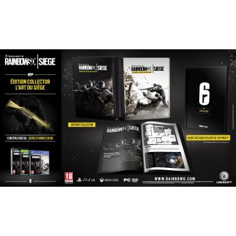 rainbow six siege edition collector ps4 jeux vid o achat prix fnac. Black Bedroom Furniture Sets. Home Design Ideas