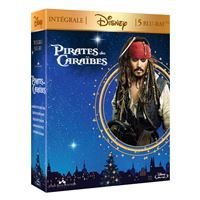Coffret Pirates Des Caraïbes 1 à 5 Blu-ray