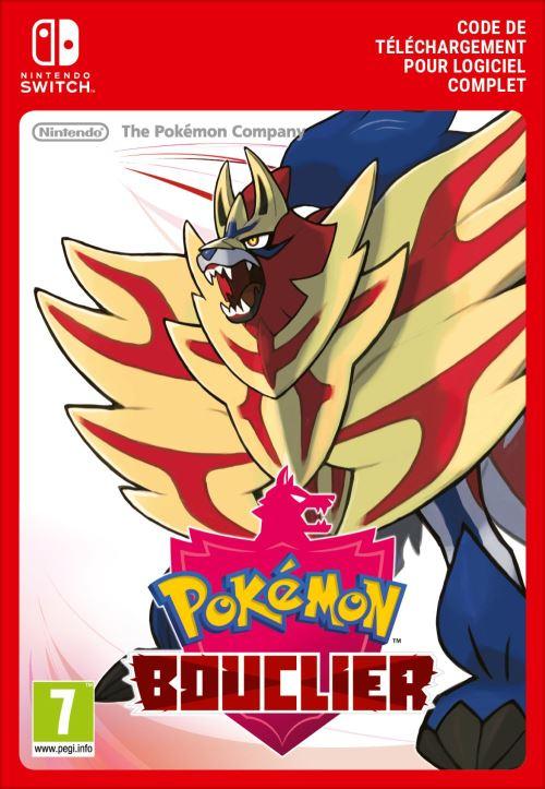 Code de téléchargement Pokémon Bouclier Nintendo Switch