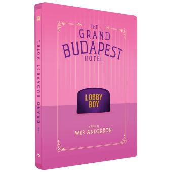GRAND BUDAPEST HOTEL-FR-BLURAY STEELBOOK
