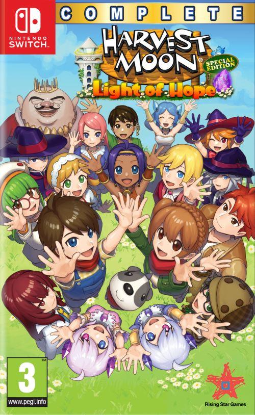 Harvest Moon Lumière d'Espoir Edition Spéciale Complète Nintendo Switch