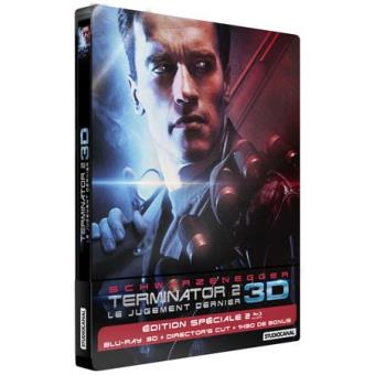 TerminatorTerminator 2 : Le jugement dernier Steelbook Blu-ray 3D + 2D