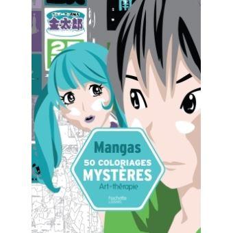 50 coloriages myst res mangas broch aur lia st phanie bertrand achat livre fnac - Coloriage manga livre ...