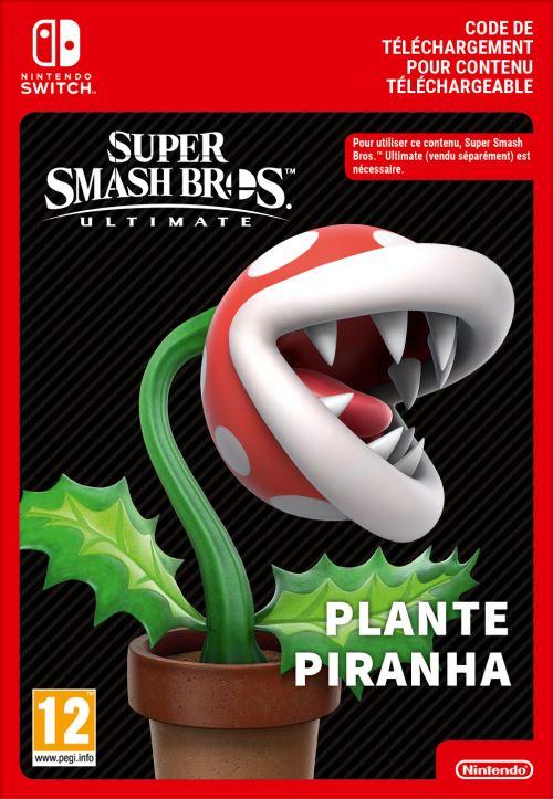 Code de téléchargement Super Smash Bros. Ultimate Plante Piranha Nintendo Switch