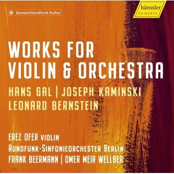 Œuvres pour violon et orchestre