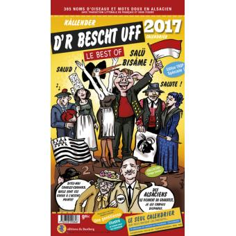 calendrier 2017 humoristique d r bescht uff broché domi de lohr